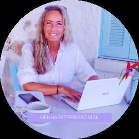 Online möten oavsett var du, eller jag, befinner oss i världen. Nenna Zetterström - fysisk, emotionell, mental & spirituell utveckling för hela dig!