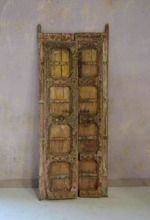 Antik dörr från Indien