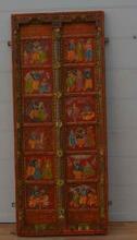 Handmålad dörr