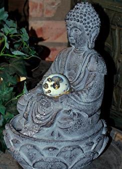 Buddha fontän