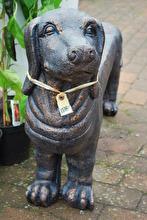 Längsta hunden som trädgårdsbänk