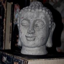 Buddha huvud, fraktfritt