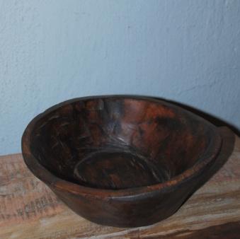 Handgjord träskål