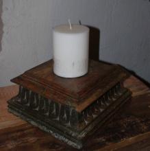 Antik ljushållare