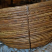 Vintage bambuskål