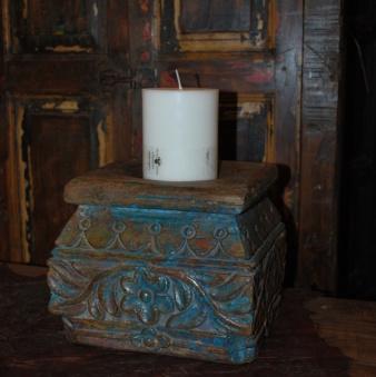 Antik ljushållare i teak