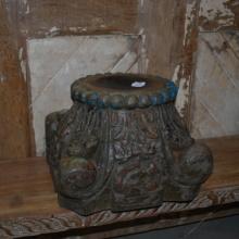 Del av gammal pelare