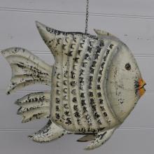 Stor fisk i plåt