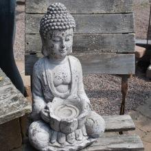 Buddha med lotusblomma