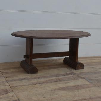 Ovalt soffbord, vintage