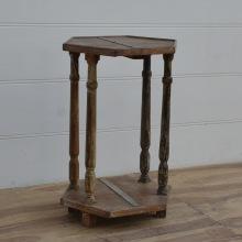 Vintage bord,sexkantigt