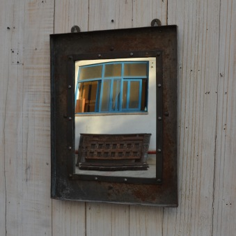 Vintagespegel fyrkantig