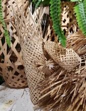 Flask-korg i bambu
