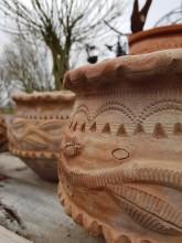 Handgjord terrakotta