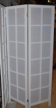 Vikskärm svart eller vit