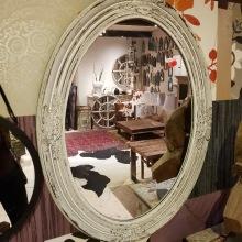 Oval spegel