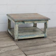 Vintage Soffbord Med Hylla