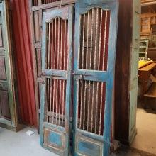 Antik dörr Indien
