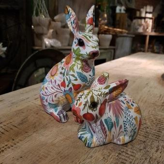 Blommig kanin