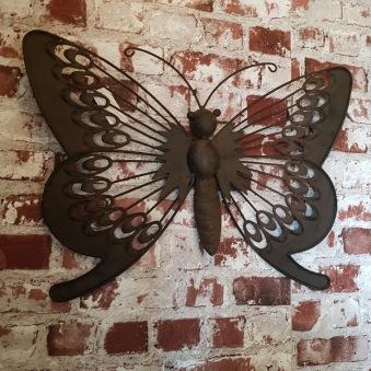 Plåt-fjäril