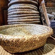 Handvävd brödkorg