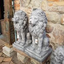 Stort lejon i fiberclay