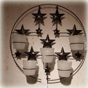 Ljus på väggen
