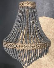 Elektrisk krona, svart/natur