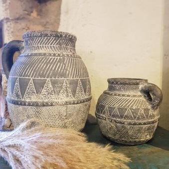 Keramikurnor - Höga urnan