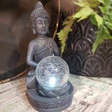 Solcellslampa Buddha