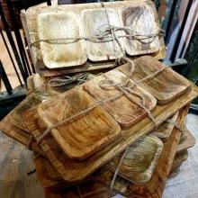 Serveringsfat i trä