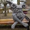 Gargoyle sittande