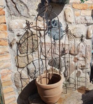 Växtstöd i järn, 3 höjder