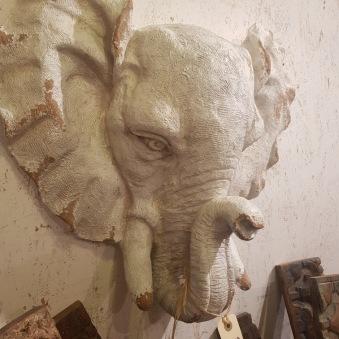 Elefant för väggen