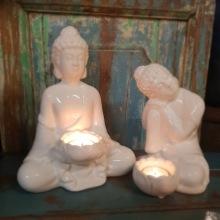 Buddha i porslin