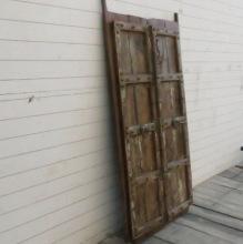 Slutet Maj: Antik dörr