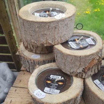 Marshallhållare i trä 2-pack