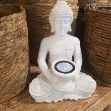 Solcells- Buddha