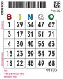 Nummerbricka typ S (Singelbricka)