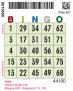 Nummerbricka typ S (Singelbricka) - Nummerbricka typ S Grön