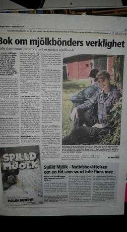 Tidningen Värmlänningen 30okt 2015