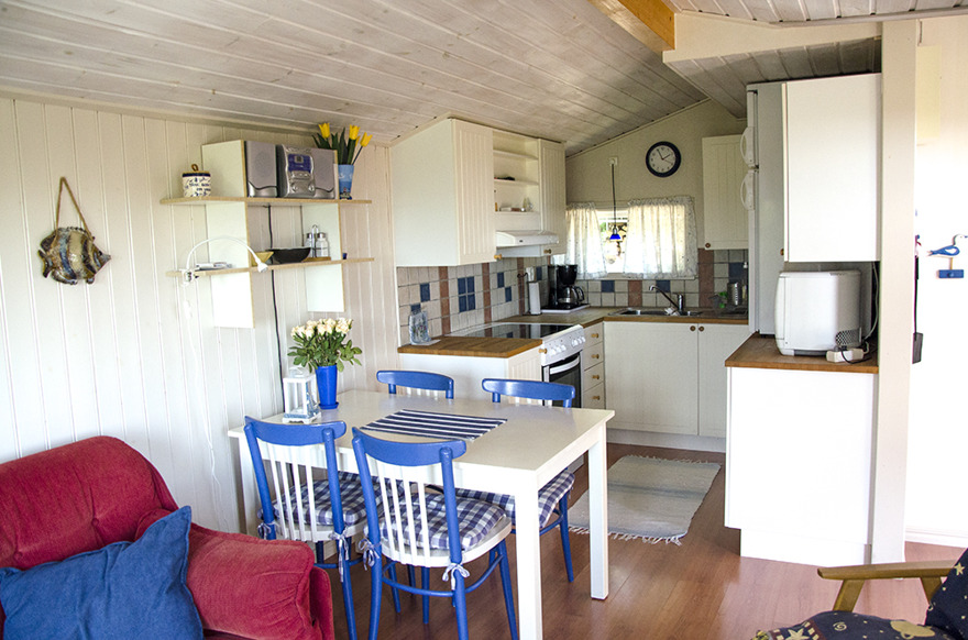 Solbacka - matplats och kök