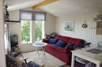 Vardagsrummet i Solbacka