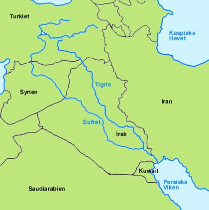 karta floder Edens floder | Ökenröst karta floder