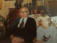 Farfar & Jag i pottfrisyr =)