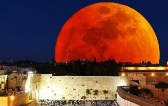 Jerusalem solnedgång