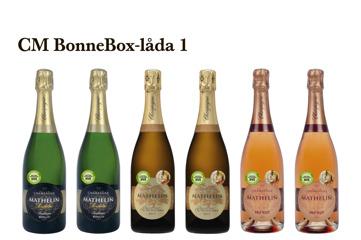 Champagne Mathelin BonneBox-låda 1