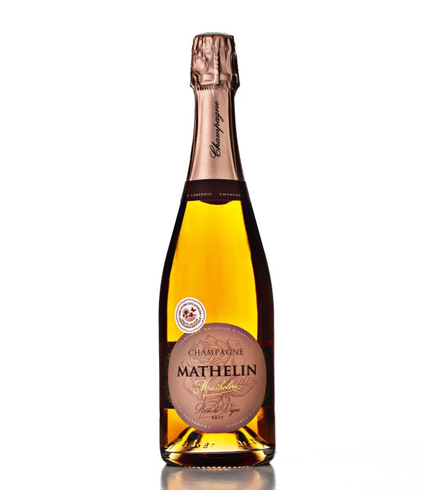 Champagne Mathelin Rosé de Saignée Brut