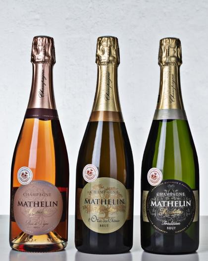Champagne Mathelin BonneBoxlåda 1 Demi