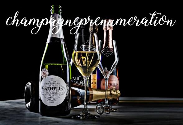 I vår champagneprenumeration ingår alla våra sorters champanger. Lite som en bubblande regnbåge! Foto: Niklas Palmklint.